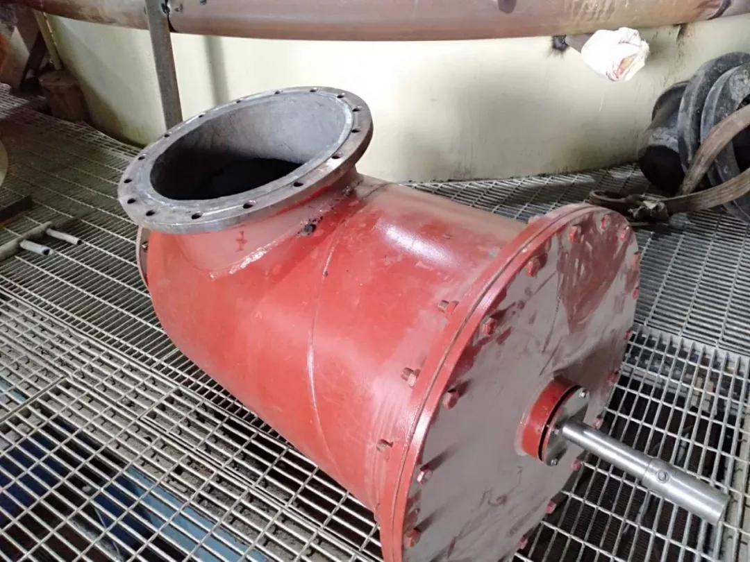 气动角阀耐磨防腐修复解决方案
